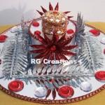 """Code RGRP030 """"Designer Ring Ceremony Platter"""""""