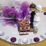 """Code RGRP031 """"Designer Ring Ceremony Platter"""""""