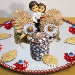 """Code RGRP032 """"Designer Ring Ceremony Platter"""""""