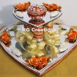 """Code RGRP033 """" Designer Ring Ceremony Platter"""""""