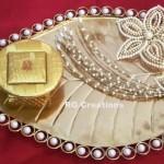 """Code RGRP034""""Designer Ring Ceremony Platter"""""""
