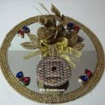"""Code RGRP035""""Designer Ring Ceremony Platter"""""""