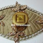 """Code RGRP036""""Designer Ring Ceremony Platter"""""""