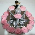 """Code RGRP037""""Designer Ring Ceremony Platter"""""""