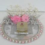 Code RGRP045,Designer Ring Ceremony Platter