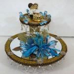Code RGRP051,Designer Ring Ceremony Platter