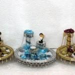 Code RGRP080,Designer Ring Ceremony Platter