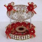 Code RGRP086,Designer Ring Ceremony Platter