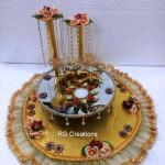 """Code RGRP099 """" Designer Ring Ceremony Platter"""""""