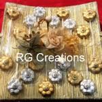 Code RGSHAG009,Chocolates in designer platter for Shagun/Ring ceremony or Wedding reception.