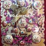 Code RGSHAG012,Chocolates in designer platter for Shagun/Ring Ceremony or Wedding Reception