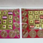 Code RGSP059,Chocolate presentation by RG Creations