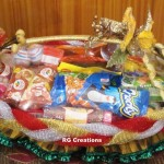 Code RGSP10,Shagun ceremony packing by RG Creations