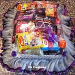 Code RGSP25,Sliver & Purple color  theme packing for Roka Ceremony by RG Creations