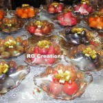 Fruit Packing for Shagun Ceremony by RG Creations