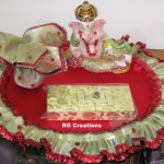 Thal for Shagun ceremony designed by RG Creations
