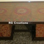 Code RGTB079,Designer center table by RG Creations