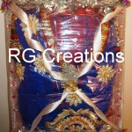 Suit packing in designer tray by RG Creations