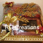 Bridal Accessories packing in designer tray by RG Creations