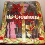 Gents Shirt-Pant packing in designer tray by RG Creations