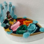 """Code RGTP0251 """" Designer Tray for Dry Fruit/Chocolate Packing"""""""