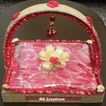 Suit packing in designer basket by RG Creations