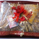 Saree packing by RG Creations
