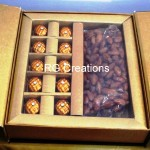 Code RGWCB103,Wedding Chocolate with honey coated Almonds