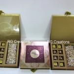 Code RGWCB117,Wedding Chocolates with Roasted Cashews