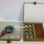 Code RGWCB121,Wedding Chocolates with Almonds