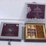 Code RGWCB122,Wedding Chocolates with Almonds