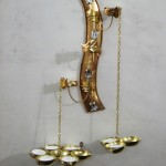 Code RGCNST022,Designer Hanging Candle Stand
