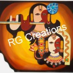 Radha Krishna Artwork